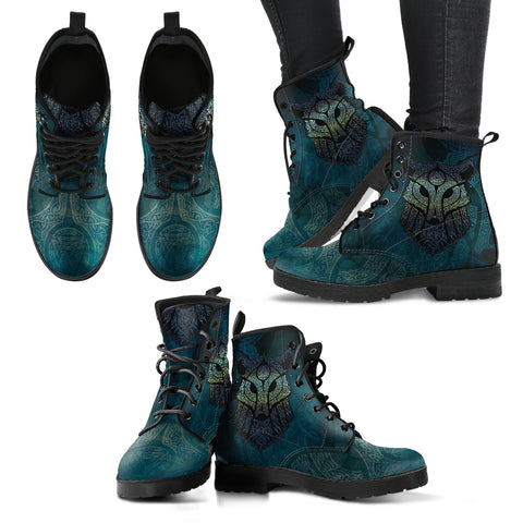 Viking Wolf Leather Boots H5 |Footwear| Love The World