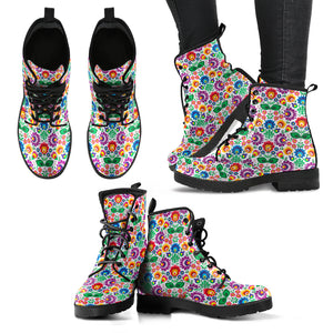 Poland Leather Boots - Folk Art 02 J8