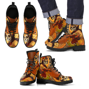 Mexico Catrina Leather Boots J8