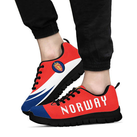 Norway Sneakers - Flag Wave Style