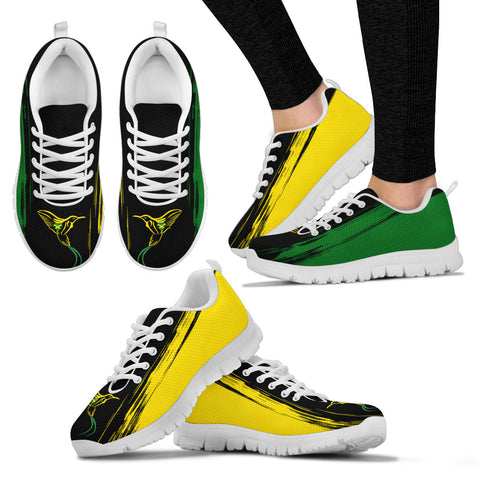Image of Jamaica Flag And Doctor Bird Sneakers H1