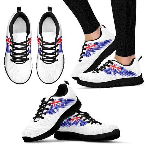 Image of Australia (Men's / Women's) Black Sneakers A8