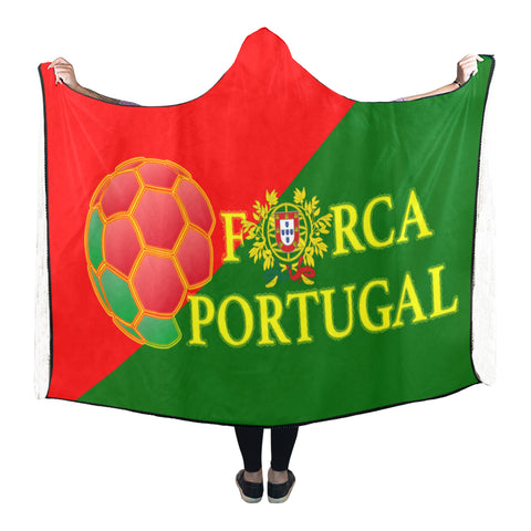 Portugal World Cup Hooded Blanket 03 - Bn04 | Love The World