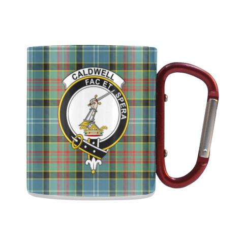 Tartan Mug - Clan Caldwell Tartan Insulated Mug A9 | Love The World