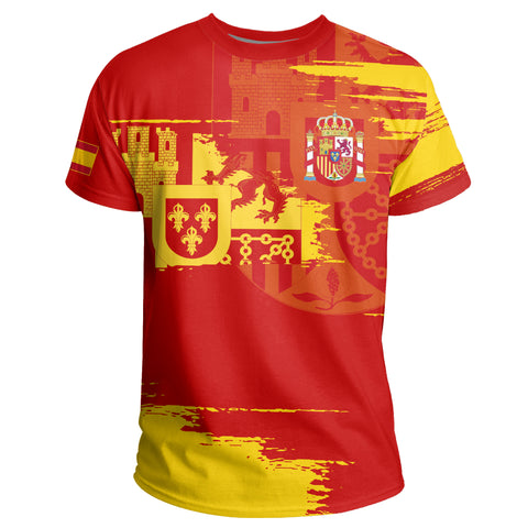 Image of Spain T-shirt - Sport Ver