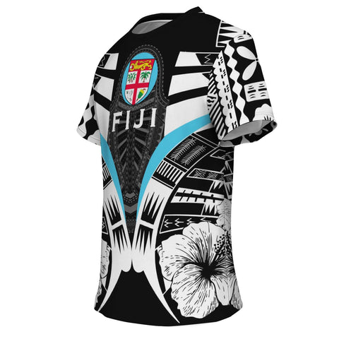 Fiji Tattoo T Shirt Hibiscus K9