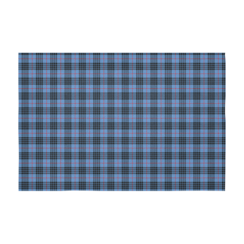 Image of MacKay Blue Tartan Tablecloth |Home Decor