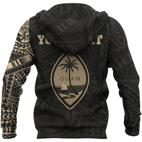 Image of Guam Custom Hoodie Tattoo Style A7