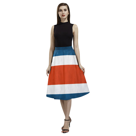 COSTA_RICA FLAG AOEDE CREPE SKIRT A1