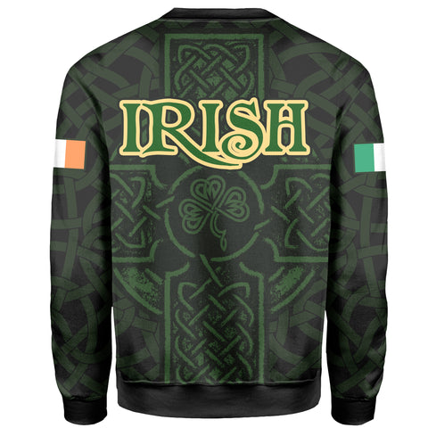 Ireland Sweatshirt - Irish Celtic Cross