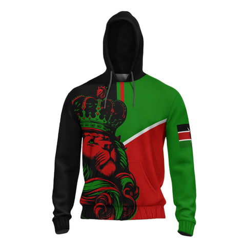 Image of Kenya Lion All Over Hoodie - Bn10