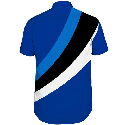 Image of Estonia Special Flag Short Sleeve Shirt A7