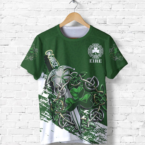 Ireland - Celtic Shamrock & Sword Special T-Shirt