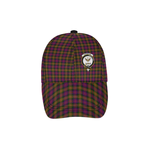 Image of Carnegie Modern Clan Badge Tartan Dad Cap - BN03