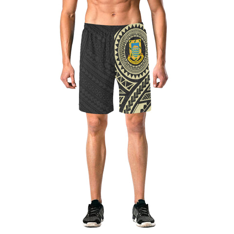 Tuvalu Polynesian Tattoo Beach Short | Hot Polynesian