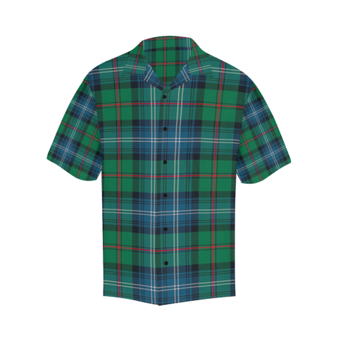 Image of Tartan Shirt - Urquhart Ancient Relaxed Fit Shirt | Tees For Men | Over 500 Tartans