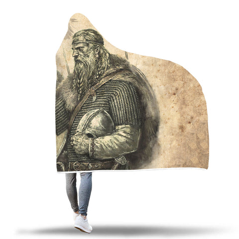 Viking Hooded Blanket - Viking Warrior Hooded Blanket 2 J7 | Love The World