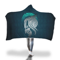 Viking Hooded Blanket - Viking Loki Hooded Blanket H7