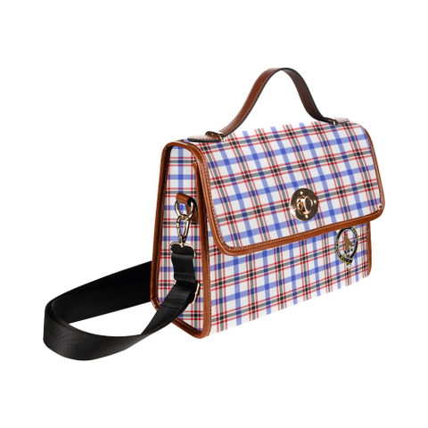 Image of Tartan Canvas Bag - Boswell Clan | Waterproof Bag | Scottish Bag
