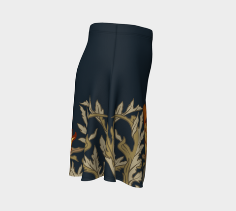 Image of Thistle Pattern 11 Flare Skirt A1