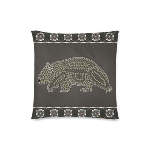 Aboriginal Wombat Pillow Covers NN6