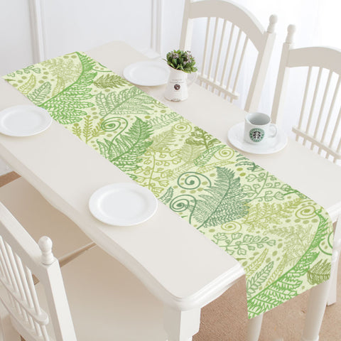 New Zealand Table Runner - Silver Fern 14 A2