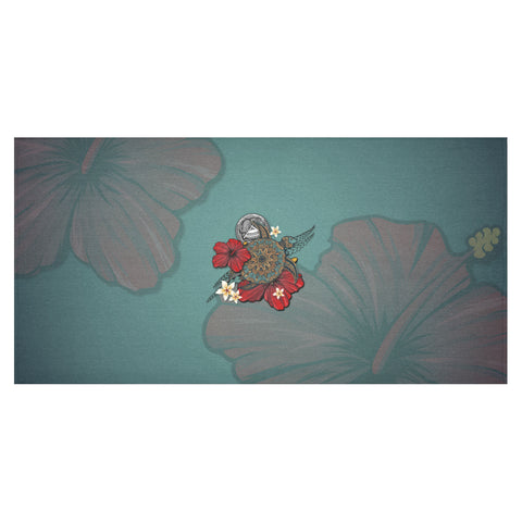 Image of American Samoa Tablecloth Turtle A24