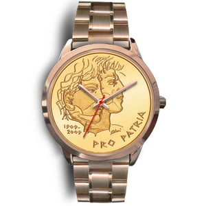 Swiss Coin Rose Gold Watch 5 K18