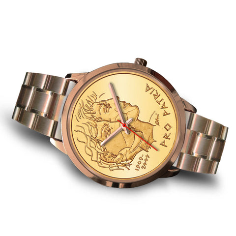 Image of Swiss Coin Rose Gold Watch 5 K18