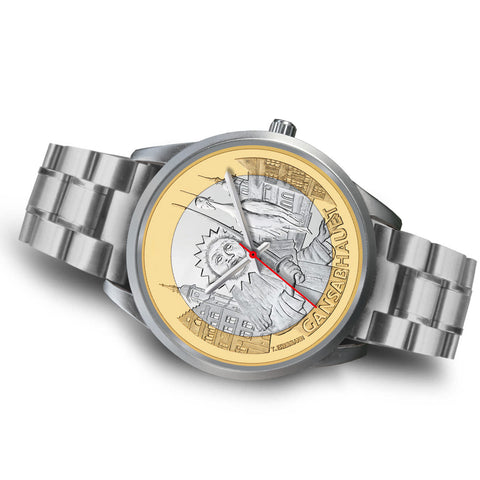 Swiss Coin Silver Watch 6 K18