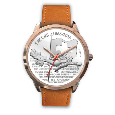 Swiss Coin Rose Gold Watch 8 - swiss watches, coin collecting, 150th Anniversary of the Swiss Red Cross, coin rose gold watches, switzerland, accessories, online shopping, silver coins 2016