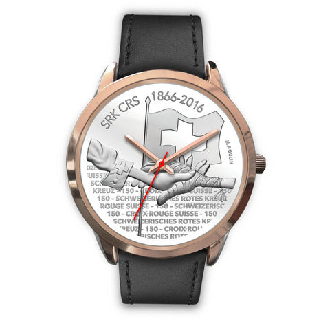 Swiss Coin Rose Gold Watch 8 - swiss watches, silver coins 2016, coin collecting, 150th Anniversary of the Swiss Red Cross, coin rose gold watches, switzerland, accessories, online shopping