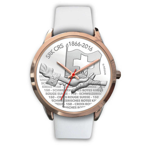 Swiss Coin Rose Gold Watch 8 - swiss watches, silver coins 2016 coin collecting, 150th Anniversary of the Swiss Red Cross, coin rose gold watches, switzerland, accessories, online shopping