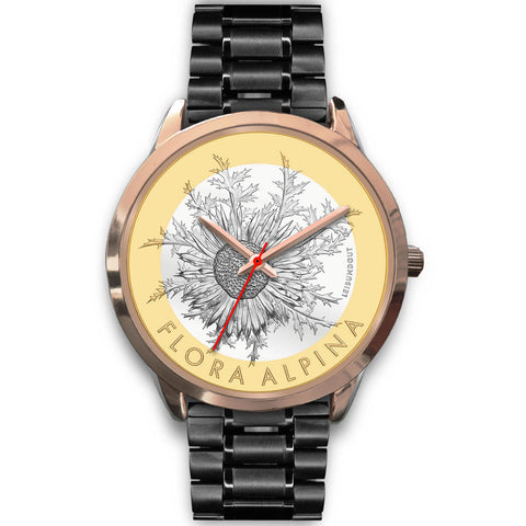 Swiss Coin Rose Gold Watch 9 - swiss watches, silver coins 2018, coin collecting, Carline thistle 2018, coin rose gold watches, switzerland, accessories, online shopping