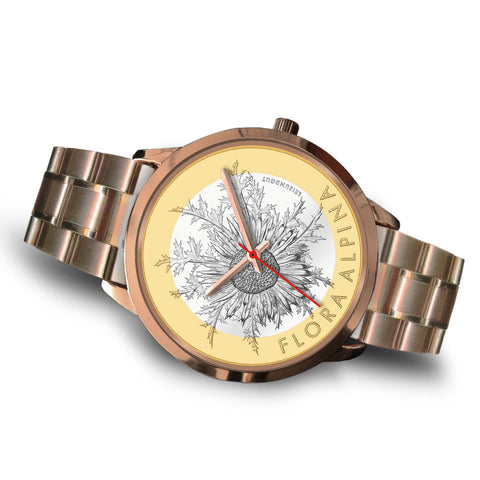 Swiss Coin Rose Gold Watch 9 K18