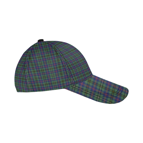 Wood Modern Clan Badge Tartan Dad Cap - BN04