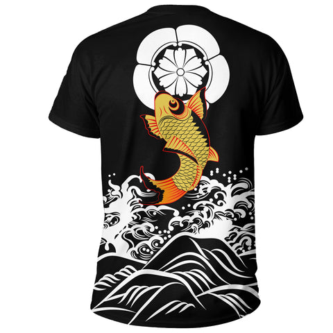 The Golden Koi Fish T-Shirt A7