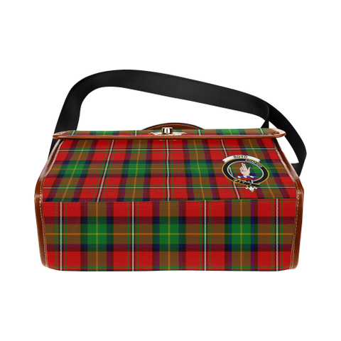 Tartan Canvas Bag - Boyd Clan | Waterproof Bag | Scottish Bag