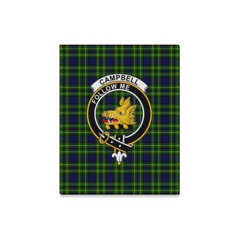 Tartan Canvas Print - Campbell (Of Breadalbane) Clan | Over 300 Scottish Clans and 500 Tartans