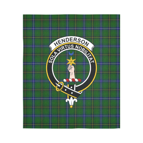 Image of Henderson Modern Tartan Tapestry Clan Badge K9
