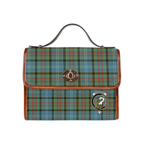 Tartan Canvas Bag - Brisbane Clan | Waterproof Bag | Scottish Bag