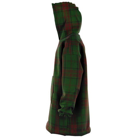 Maxwell Hunting Snug Hoodie - Unisex Tartan Plaid Left