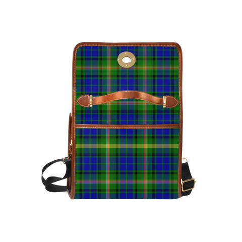 Image of Tartan Canvas Bag - Maitland Clan | Waterproof Bag | Scottish Bag