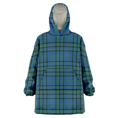 Matheson Hunting Ancient Snug Hoodie - Unisex Tartan Plaid Front