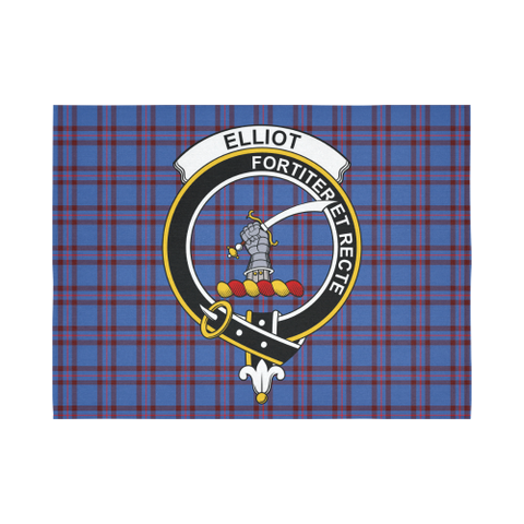 Elliot Modern Tartan Tapestry Clan Badge K7