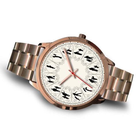 Mother And Son Lovely Rose Gold Watch