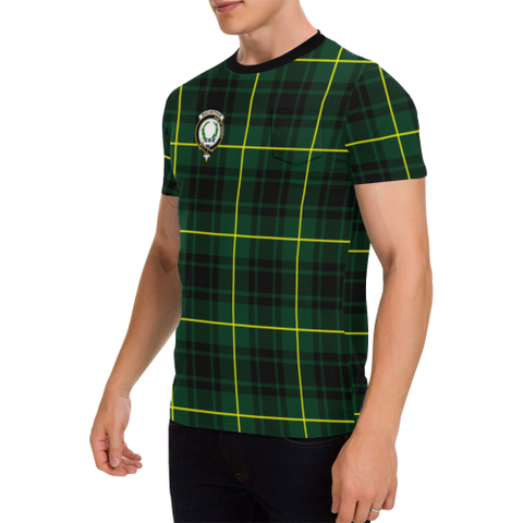 MacArthur Tartan T-Shirt | Scottish Pocket Tees | Men & Women Clothing
