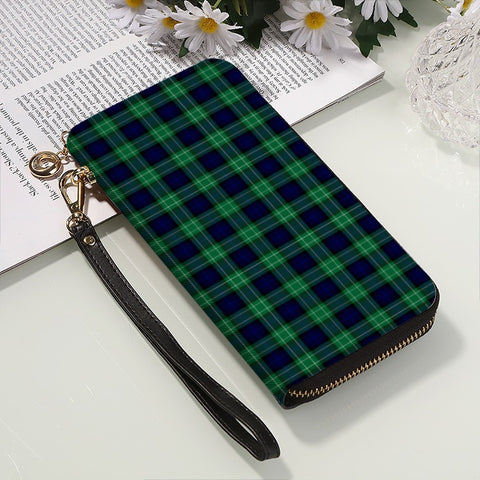 Image of ABERCROMBIE TARTAN ZIPPER WALLET HJ4
