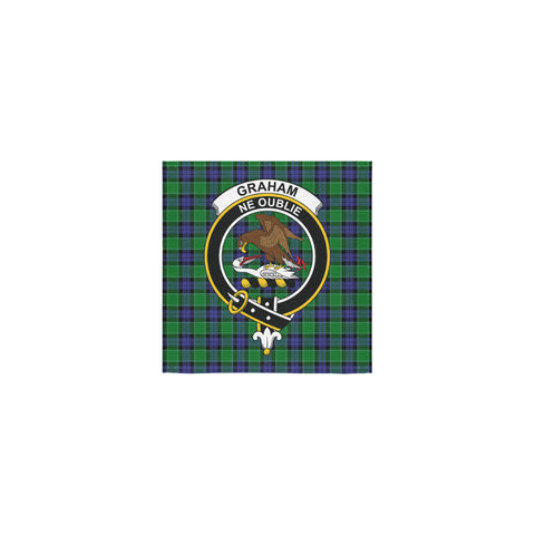 Graham of Menteith Modern Tartan Towel Clan Badge | 1sttheworld.com