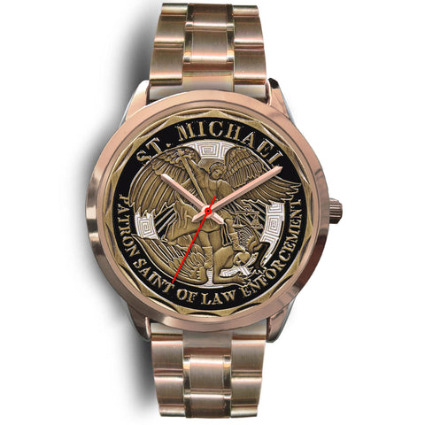 St Michael Patron Saint of Law Enforcement Challenge Coin Watch